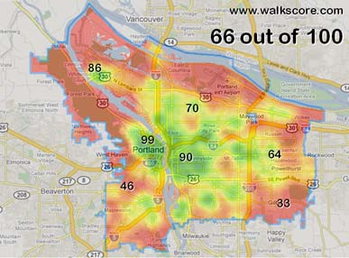 walkscore and the 5 10 20 minute neighborhood pdx planning
